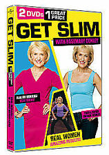 GET SLIM WITH THE STARS - ROSEMARY CONLEY - GI JEANS / REAL RESULTS DVD - SEALED
