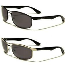 Mens XLOOP Polarized Sunglasses Metal Driving Black UV400 PZ595 New