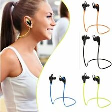Sport Wireless Bluetooth Stereo Headset Earphone Headphone for iPhone Samsung