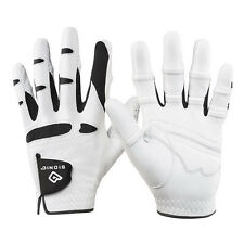 2016 Bionic Leather Golf Glove- Orthopedic Padded Mens Gloves