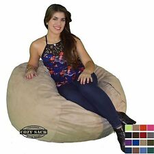 Bean Bag Chair Factory Direct 3' Small Cozy Bean Bag Foam Filled By Cozy Sack