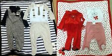 *NWT* Absorba 4-piece Set -Footie, Footed Shirt/Pant Set, & Plush Blanket