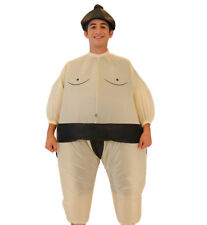 Adult/Teen Japanese Wrestling Sport Sumo Wrestler Inflatable Chub Suit Costume