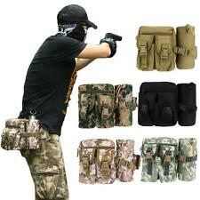 Waist Bum Bag Military Fanny Pack Detachable Water Bottle Holder Belt Pouch G2V9