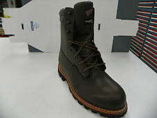 """NEW ITB REDWING  STYLE1205 8"""" WORK BOOTS  RW01"""