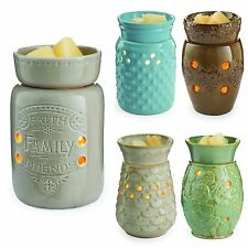 Candle Warmer MID SIZE Plug In WAX WARMER Use Bars Oil Tart Holiday & Everyday