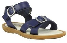 Umi Toddler Girls Celia Casual Leather Open Toe Sandal Shoes Navy 33431