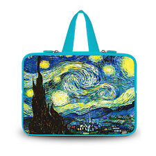 """Starry Night 15 inch 15.4"""" 15.5"""" 15.6"""" Netbook Laptop Soft Bag Sleeve Case Cover"""