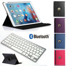 """Bluetooth Keyboard + Luxury Leather Case Rotating Cover for Apple iPad Pro 12.9"""""""