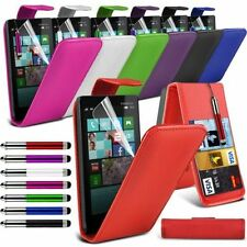 6 Colours Leather Flip Mobile Phone Case Cover For Nokia Lumia 930