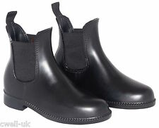 All Sizes Childrens/Adults  horse riding jodhpur/jodphur boots  - black leather