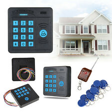 RFID Proximity Entry Door Lock Access Control System Security + Keys Card Remote