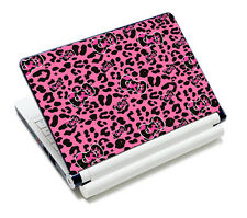 "Pink Leopard Laptop Netbook 10.6""-15.6"" Vinyl Decal Skin Sticker Cover Protector"