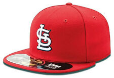 New Era St. Louis Cardinals Cap 5950 Authentics On-Field red Fitted Team