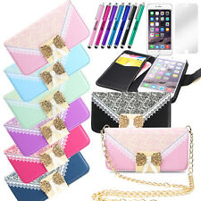 """Luxury Leather Stand Case Card Wallet Cover for Apple iPhone 6/6 Plus 4.7""""/5.5"""""""