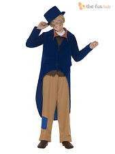 Kids Victorian Dickensian Artful Dodger Oliver Boy Book Week Fancy Dress Costume