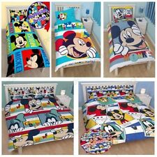MICKEY MOUSE DOONA COVER SETS AVAILABLE IN SINGLE & DOUBLE VARIOUS NEW DESIGNS