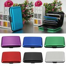 Pocket Waterproof Business ID Credit Card Wallet Holder Aluminum Metal Case Box