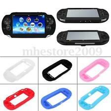 5 color Protective Soft Silicone Case Cover Skin fr Sony PlayStation PS Vita PSV