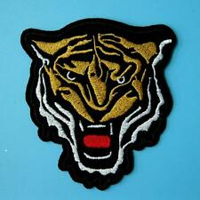 Tiger Wild Animal Iron on Sew Patch Cute Applique Badge Embroidered Biker Motor