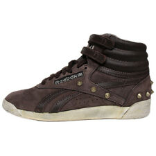Reebok Freestyle Hi Studs Shoes Trainers FS High Fitness shoes Leather brown