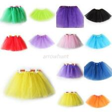 Girls Kids Tutu Party Ballet Dress Skirt Toddler Pettiskirt Clothing Dance Wear