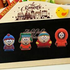 4PCS/SET South Park Cartoon Fridge Magnets,Magnetic Stick Office Supplies Gifts