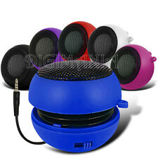 Capsule Speaker 3.5mm Blue Compact For Most Mobile Phones