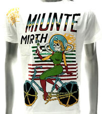 m234w Minute Mirth T-shirt M L XL Tattoo Skull Graffiti Art Street Gangster Rock