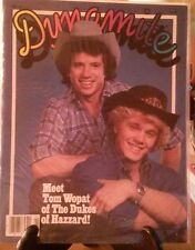 DYNAMITE MAGAZINES #80 MEET TOM WOPAT MICHAEL JACKSON DUKES OF HAZZARD POSTER
