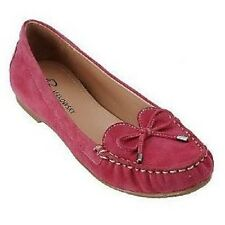 NIB B MAKOWSKY TYRONE SUEDE LEATHER MOCCASINS LOAFER SIZE 5 PINK or BUTTERSCOTCH
