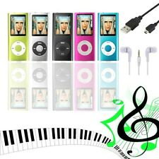 "8GB 8 GB 1.8"" LCD MP3 MP4 Music Video Media Player Radio FM Games Movie 4th Gen"