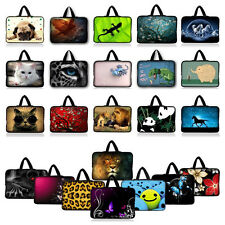 """Colorful 10"""" 10.2"""" Netbook Tablet Bag Laptop Carry Sleeve Handle Case Cover C0"""