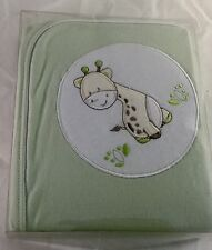 New Bubba Blue Playtime Waffle  Bassinette Baby Blanket Gift Boxed