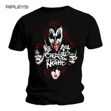 Official T Shirt KISS Rock n Roll Gene Simmons   Creatures Lyrics All Sizes