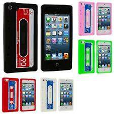 Cassette Retro Silicone Tape Gel Rubber Skin Case Cover for iPhone 5 5G 5th