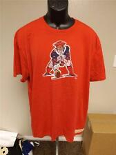 NEW M&N New England Patriots Mitchell & Ness MENS sizes S-L Throwback Red Shirt