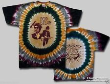 T-Shirts Sizes S-2XL New Authentic Mens Bob Dylan Deal Tour Tie Dye Tee Shirt