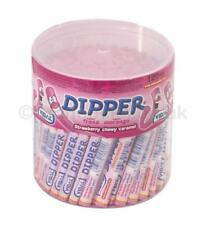 * Full Tub 120 x Vidal Strawberry Dipper Chews Wholesale Wedding RETRO SWEETS