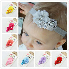 Soft Baby Girls Flower Headband Newborn Hair Band Kids Hair Accessories Bandeau