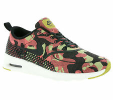 NIKE Air Max Thea Jacquard Premium women's sneakers Yellow Sport Running Shoes