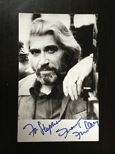 FRANK FINLAY - LATE GREAT ACTOR - EXCELLENT SIGNED B/W PHOTOGRAPH
