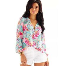 NWT LILLY PULITZER ELSA TOP MULTI PEEL AND EAT XXS,XS,S,M 1ST QUALITY LILLY