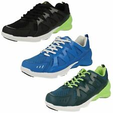 Mens Air Tech synthetic lace up trainers Roma
