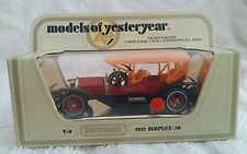 Matchbox Models of yesteryear Y-9 1912 Simplex-50. Excellent condition