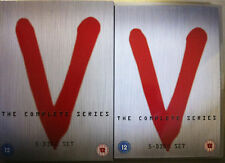 V - THE COMPLETE SERIES Cult Sci-Fi Series 1980s UK 5-Disc DVD Set w/Slipcover
