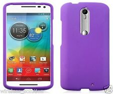 PURPLE Snap-On Case Hard Cover for Motorola Droid Turbo 2 / Kinzie