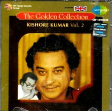 KISHORE KUMAR VOL. 2 - THE GOLDEN COLLECTION - NEW BOLLYWOOD CD - FREE UK POST