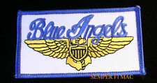 US NAVY BLUE ANGELS PILOT HAT PATCH USS US MARINES PILOT WING AIRSHOW WOW