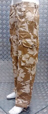 Genuine British Army Desert Camo DDP Windproof Combat Trousers - All Sizes - NEW